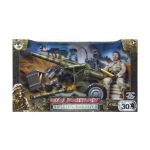 World Peacekeepers Houwitser - Soldaat - 90053 - Leger Speelgoed - Speelgoed Soldaatjes