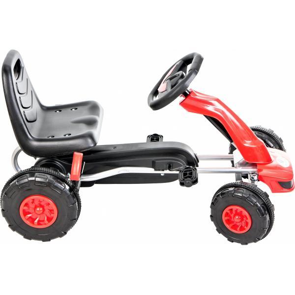 Kidz Motion Rode Skelter - Rood / Zwart - 3 to 8 jaar - Met Rem