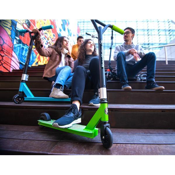 HyperMotion Stunt Step - Groen - 100kg - Stuntstep