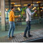 HyperMotion Stunt Step – Groen – 100kg – Stuntstep