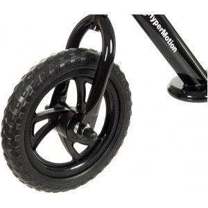 HyperMotion VILANO - Loopfiets jongens 2 jaar - Schuimwielen - Zwart loopfietsje