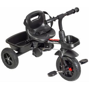 HyperMotion TOBI VECTOR Driewieler met Duwstang - Zwart