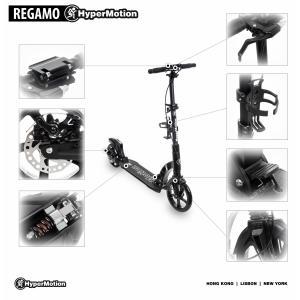 HyperMotion Regamo Step Volwassenen Vering - Rem - Zwart