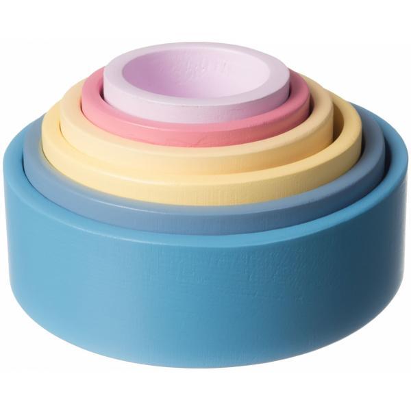 kleurrijke schalen