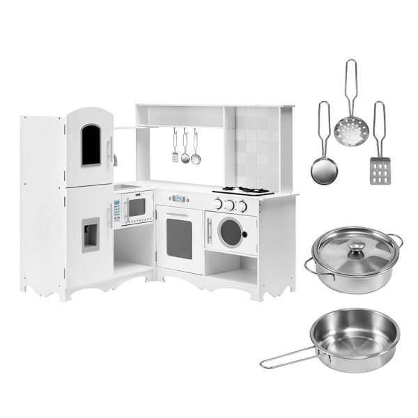 Mamabrum XXL Houten Keuken met Wasmachine en Accessoires