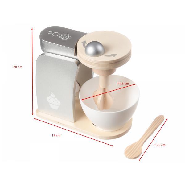 Mamabrum Houten Mixer - Speelgoed Mixer - Speelgoed Keuken Accessoires