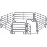 Farmee Paard met hek en boer met maaier – Boerderijspeelgoed