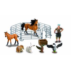 Farmee Boerderijspeelgoed Paard met hek