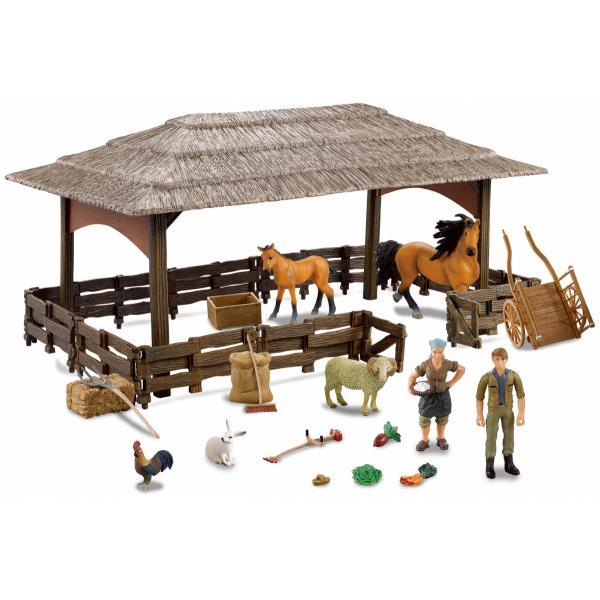 Farmee Boerderij Speelgoed met Boerderijdieren - Paard