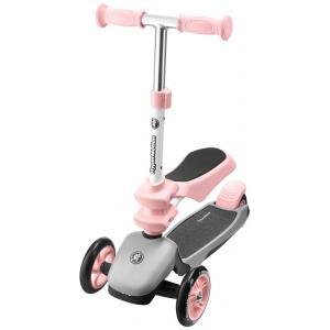 HyperMotion Kinder step 3 Wielen - 3in1 - Roze - Meisje