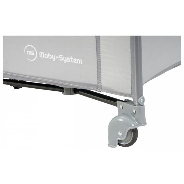 Moby System Reisbedje Reiswieg / Box Happy Traveler - Grijs