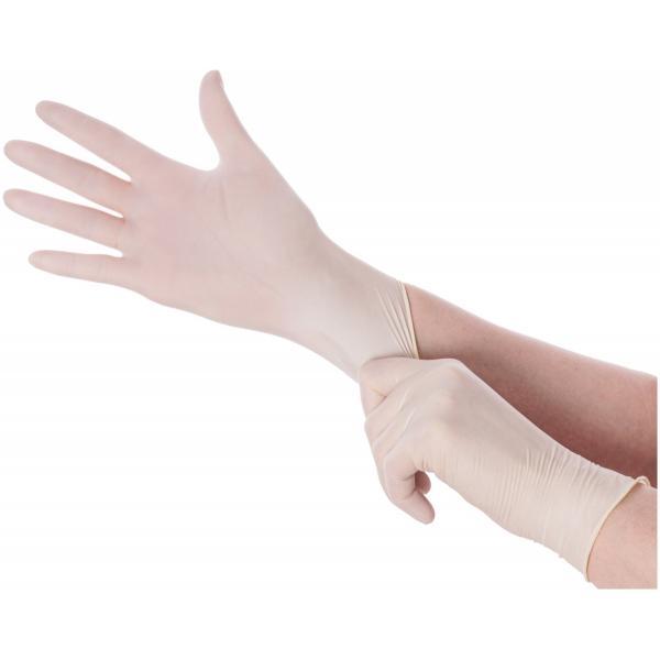 HeroTouch Medische latex handschoenen wegwerp - Poedervrij - 100 stuks - Large