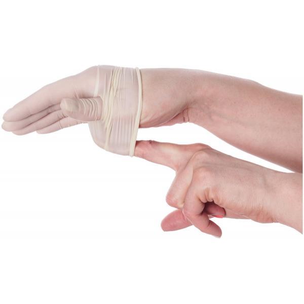 HeroTouch Medische latex handschoenen wegwerp - Poedervrij - 100 stuks - Medium