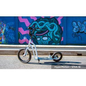 HyperMotion VIVA 16 Autoped - Wit - 50kg - Step Luchtbanden - Meisje