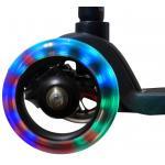 HyperMotion ALAMO Kinderstep 3 wielen jongens en meisje step LED Wielen zwart zonder print