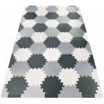 Moby System Puzzelmat XXL 260 x 135 x 1 cm – met rand – EVA foam + tas – grijs